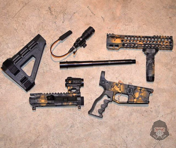 Key Parts Used